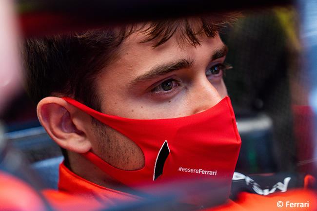 Charles Leclerc - Scuderia Ferrari - 2020