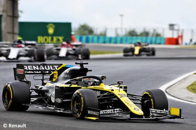 Daniel Ricciardo - Renault - Carrera - GP de Hungría 2020