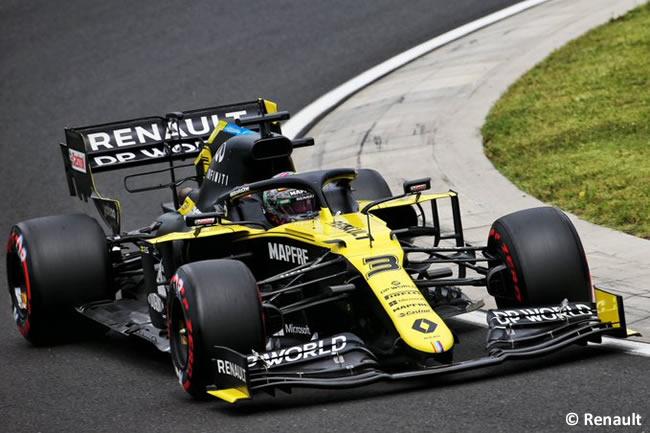 Daniel Ricciardo - Renault - Clasificación - GP de Hungría 2020