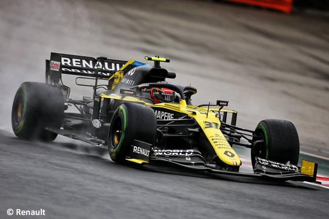 Esteban Ocon - Renault - Entrenamientos Libres - GP de Hungría 2020