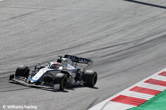 George Russell - Williams - Carrera - GP de Austria 2020