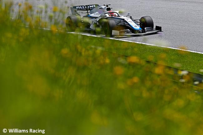 George Russell - Williams - Clasificación - GP de Austria 2020