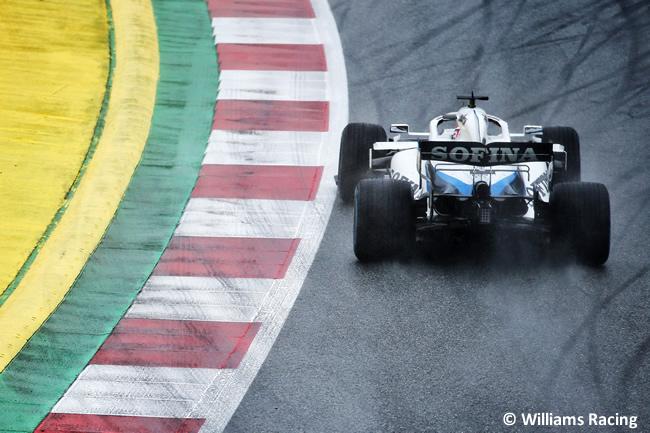 George Russell - Williams - Clasificación - GP de Estiria 2020