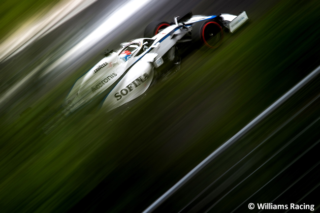 George Russell - Williams - Clasificación - GP de Hungría 2020