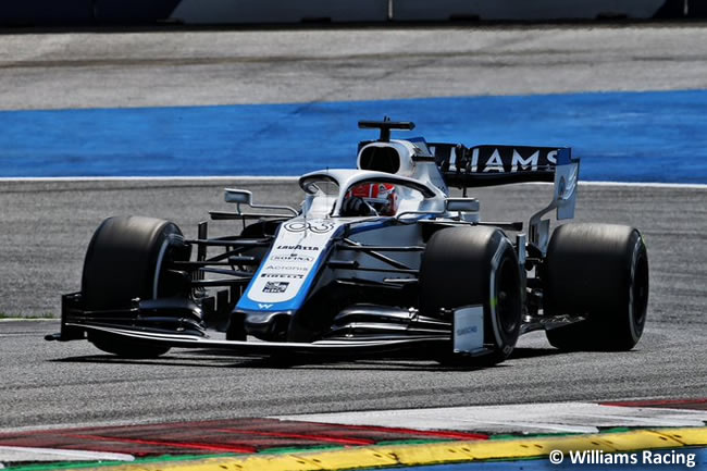 George Russell - Williams - Entrenamientos Libres - GP de Estiria 2020