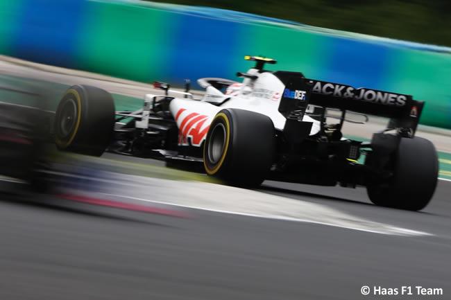 Kevin Magnussen - Haas - Carrera - GP de Hungría 2020