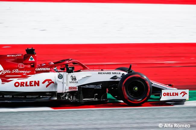 Kimi Raikkonen - Alfa Romeo - Entrenamientos Libres - GP de Estiria 2020