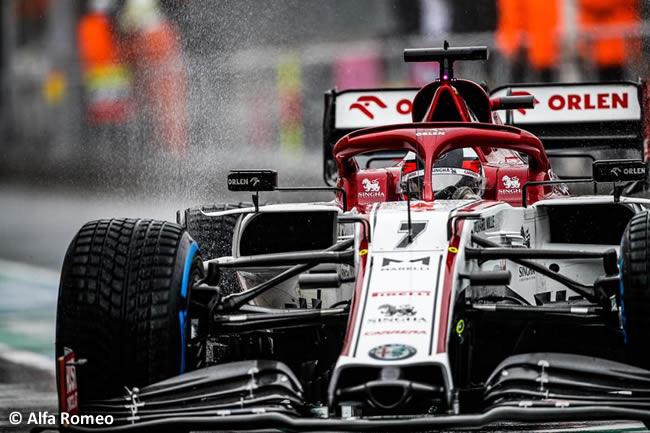 Kimi Raikkonen - Alfa Romeo - Entrenamientos Libres - GP de Hungría 2020