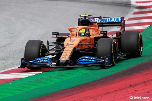 Lando Norris - McLaren - Carrera - GP de Estiria 2020