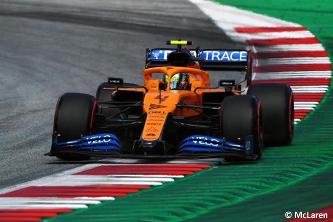 Lando Norris - McLaren - Clasificación - GP de Austria 2020