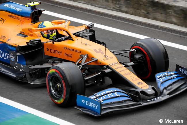 Lando Norris - McLaren - Clasificación - GP de Hungría 2020