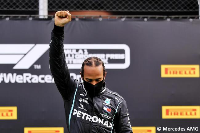 Lewis Hamilton - Mercedes - Carrera - GP de Estiria 2020