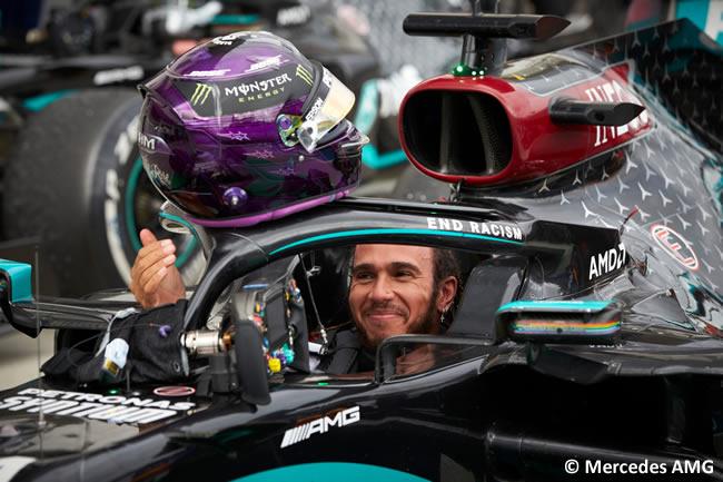 Lewis Hamilton - Mercedes - Carrera - GP de Hungría 2020