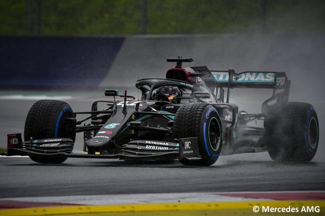 Lewis Hamilton - Mercedes - Clasificación - GP de Estiria 2020