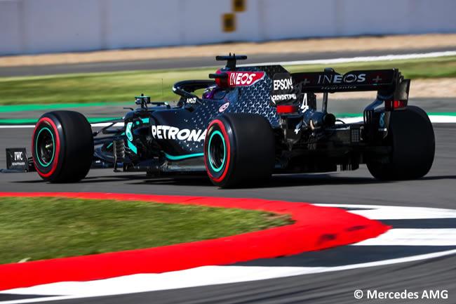 Lewis Hamilton - Mercedes - Entrenamientos Libres- GP de Gran Bretaña - Silverstone 2020