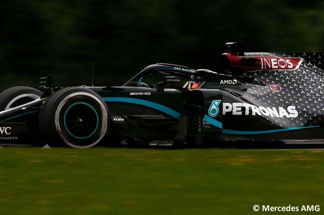 Lewis Hamilton - Mercedes - Entrenamientos Libres - GP de Austria 2020