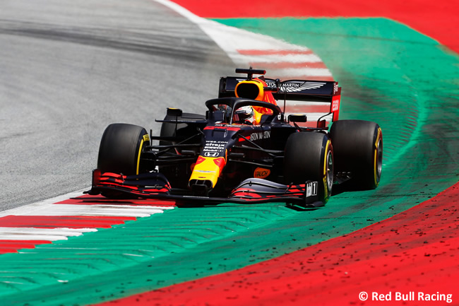 Max Verstappen - Red Bull - Clasificación - GP de Austria 2020