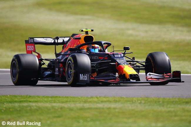Max Verstappen - Red Bull - Entrenamientos Libres- GP de Gran Bretaña - Silverstone 2020