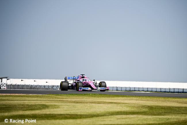 Nico Hulkenberg - Racing Point - Entrenamientos Libres- GP de Gran Bretaña - Silverstone 2020
