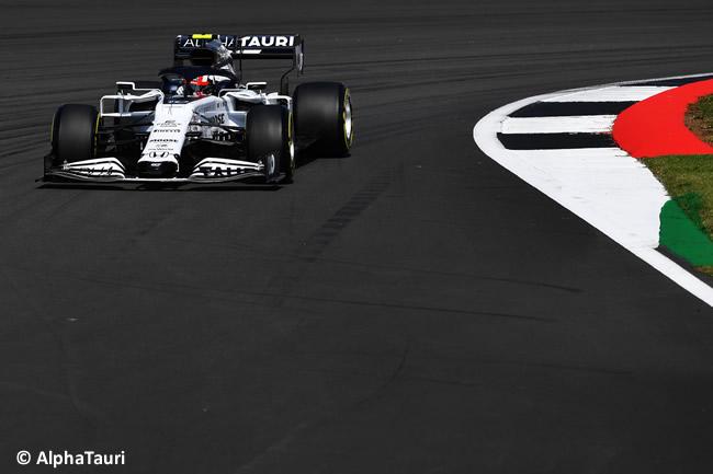 Pierre Gasly - AlphaTauri - Entrenamientos Libres- GP de Gran Bretaña - Silverstone 2020