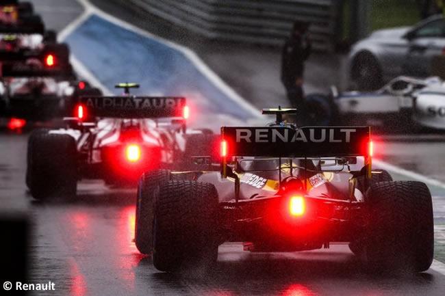 Renault - Clasificación - GP de Estiria 2020