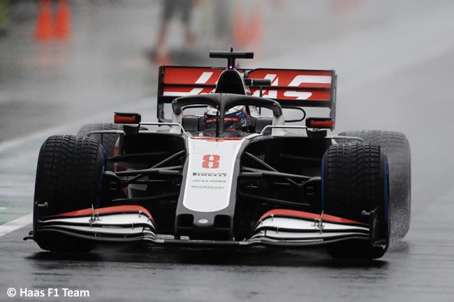 Romain Grosjean - Haas - Entrenamientos Libres - GP de Hungría 2020
