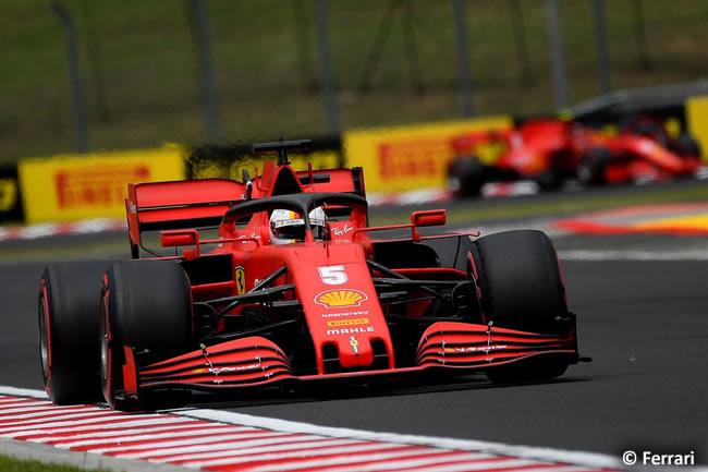 Sebastian Vettel - Scuderia Ferrari - Clasificación - GP de Hungría 2020