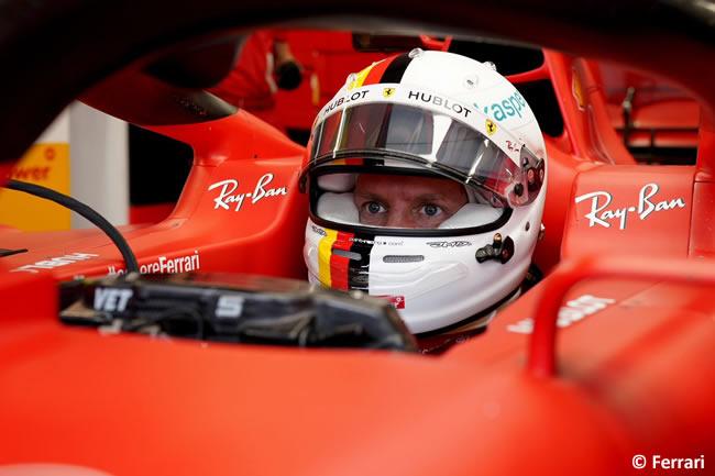 Sebastian Vettel - Scuderia Ferrari - Entrenamientos Libres - GP de Hungría 2020