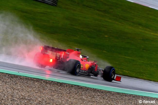 Sebastian Vettel - Scuderia Ferrari - Clasificación - GP de Estiria 2020