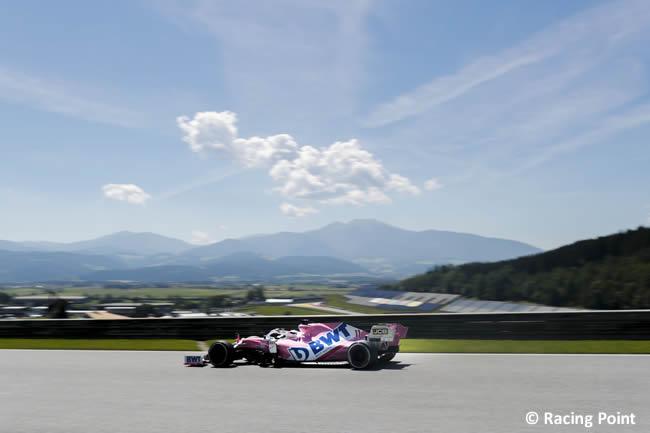 Sergio Pérez - Racing Point - Entrenamientos Libres - GP de Estiria 2020