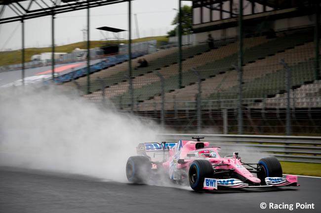 Sergio Pérez - Racing Point - Entrenamientos Libres - GP de Hungría 2020