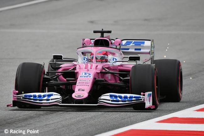 Sergio Pérez - Racing Point - Entrenamientos Libres - GP de Austria 2020