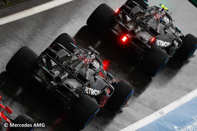 Valtteri Bottas - Lewis Hamilton - Mercedes AMG - Entrenamientos Libres - GP de Hungría 2020