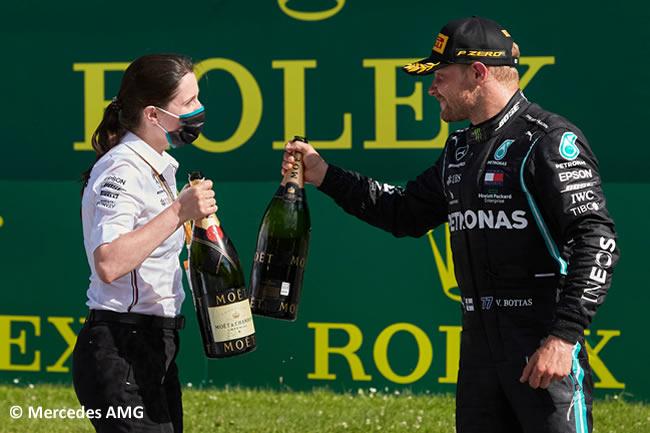 Valtteri Bottas - Mercedes - Carrera - GP de Austria 2020