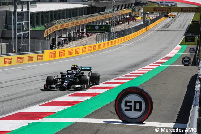 Valtteri Bottas - Mercedes - Entrenamientos Libres - GP de Estiria 2020