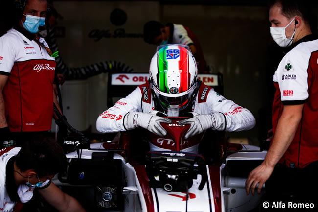Antonio Giovinazzi - Alfa Romeo - Clasificación - GP de Gran Bretaña - Silverstone 2020