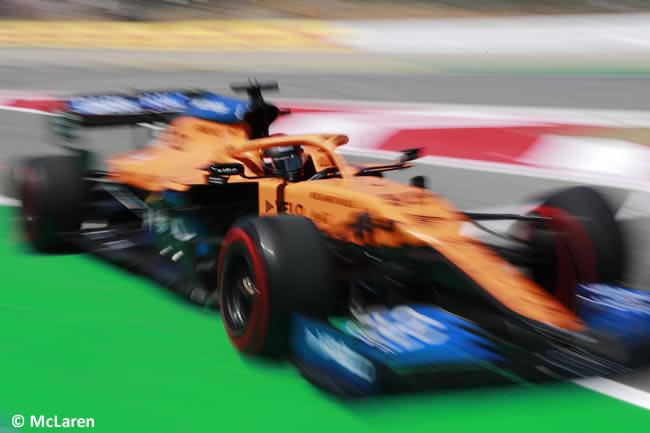 Carlos Sainz - McLaren - Entrenamientos Libres - GP España
