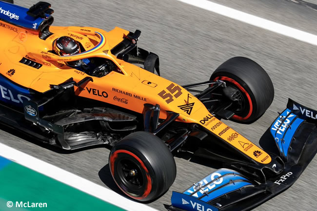 Carlos Sainz - McLaren - Carrera - GP España