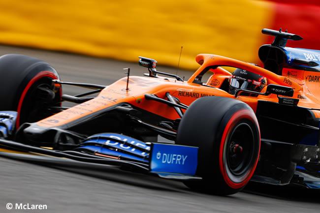 Carlos Sainz - McLaren - Clasificación - GP Bélgica 2020