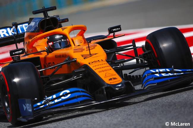 Carlos Sainz - McLaren - Clasificación - GP España