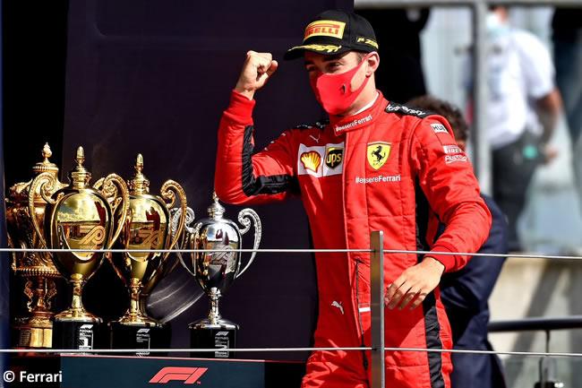Charles Leclerc - Scuderia Ferrari -Carrera - GP de Gran Bretaña - Silverstone 2020