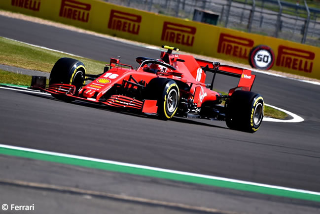 Charles Leclerc - Scuderia Ferrari - Clasificación - 70º GP Aniversario