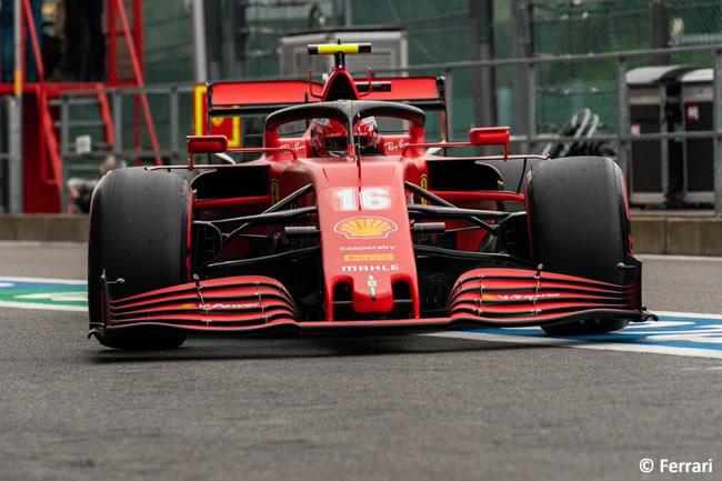 Charles Leclerc - Ferrari - Entrenamientos Libres - GP Bélgica 2020