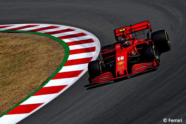 Charles Leclerc - Scuderia Ferrari - Entrenamientos Libres - GP España