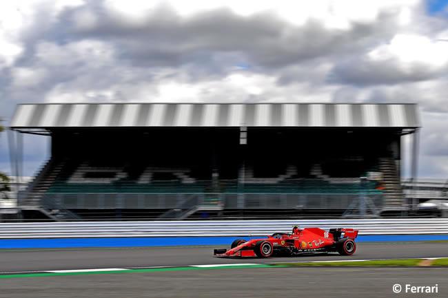 Charles Leclerc - Scuderia Ferrari - Clasificación - GP de Gran Bretaña - Silverstone 2020