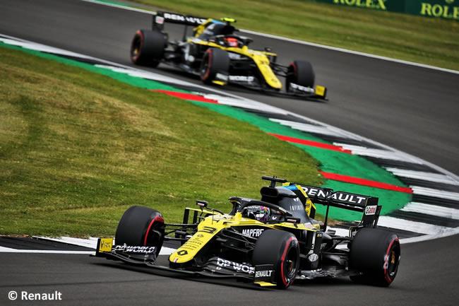 Daniel Ricciardo - Esteban Ocon - Renault - Clasificación - GP de Gran Bretaña - Silverstone 2020