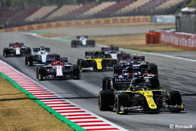 Daniel Ricciardo - Renault - Carrera - GP España