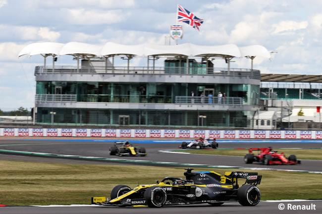 Daniel Ricciardo - Renault -Carrera - GP de Gran Bretaña - Silverstone 2020