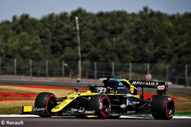 Daniel Ricciardo - Renault - Clasificación - 70º GP Aniversario