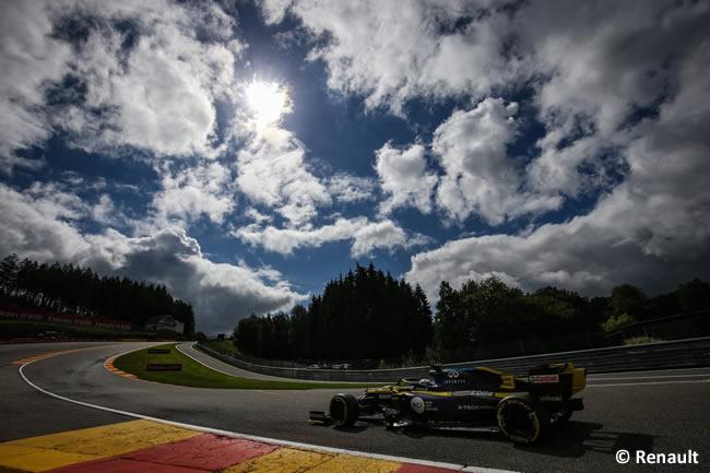 Daniel Ricciardo - Renault - Clasificación - GP Bélgica 2020
